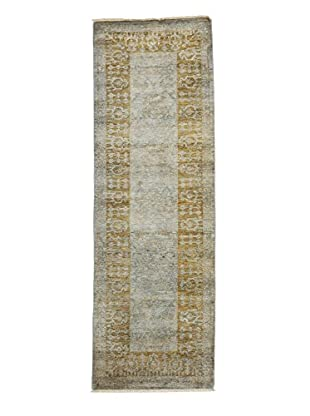 Darya Rugs Ziegler One of a Kind Rug, Green, 2' 7