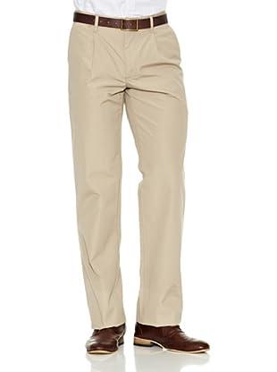 Dockers Pantalón Comfort Poplin (Caqui)