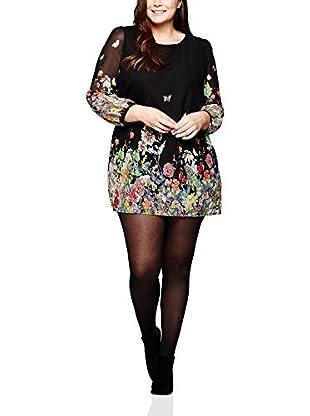 YUMI Curves Vestido Negro ES 52 (UK 24)