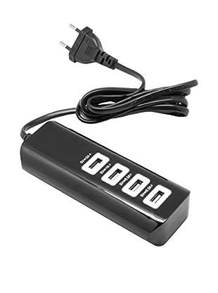 UNOTEC Regleta USB 4X