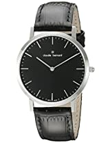 Claude Bernard Analogue Black Dial Men's Watch - 20202 3 NIN