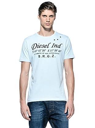 Diesel Camiseta T-Coordinates-R (Azul)