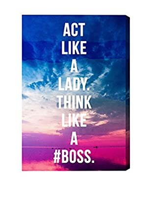 Oliver Gal 'Like A Boss' Canvas Art