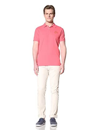 GANT by Michael Bastian Men's The M.B. Sun Embroidered Polo (Candy Pink)