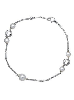 Le Perla di Emi Kaway Pulsera Rozalia Plata Perla