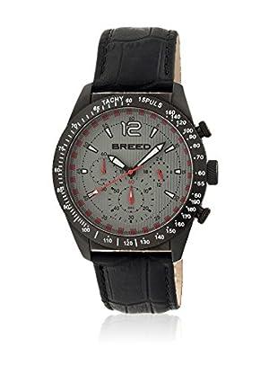 Breed Reloj con movimiento cuarzo japonés Brd5504 Negro 42  mm
