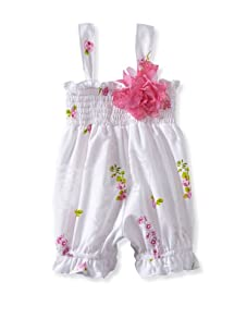 Baby Nay Smocking Balloon Romper (Emily Rose)