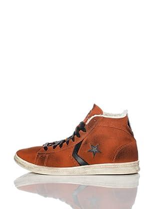 Converse Zapatillas Pro Leather (Teja / Negro)