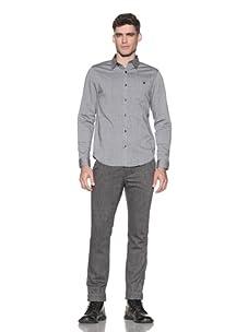 Comune Men's Howard Oxford Shirt (Charcoal)