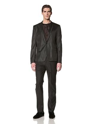 Versace Collection Men's 1 Button Jacket (Black)