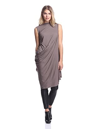 Rick Owens Lilies Women's Side Drape Top (Dna Dust)