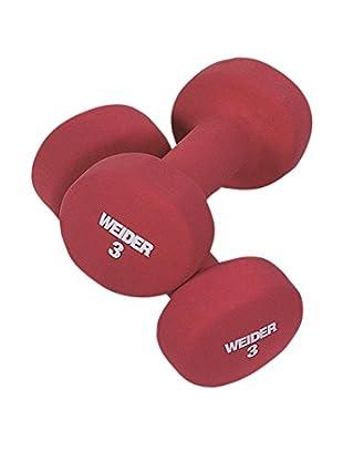 Weider Peso 3 kg Rosso