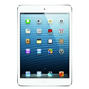 Apple iPad Mini Tablet (7.9 inch, 32GB, Wi-Fi Only), White-Silver