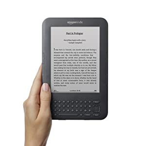 "Kindle Keyboard 3G, Free 3G + Wi-Fi, 6"" E Ink Display, 3G Works Globally"