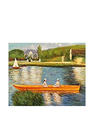 Arte dal Mondo  Wandbild Renoir Rive Della Senna