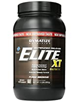 Dymatize Elite XT Dietary Supplement, Fudge Brownie, 2 Pound