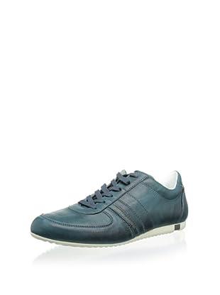 Dolce & Gabbana Men's Leather Sneaker (Green)
