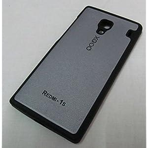 XGOQ Back Case Cover For Xiaomi Redmi 1S (Silver - Grey) - By Online Shoppee