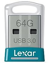 Lexar JumpDrive S45 64GB USB 3.0 Flash Drive - LJDS45-64GABNL (Teal)