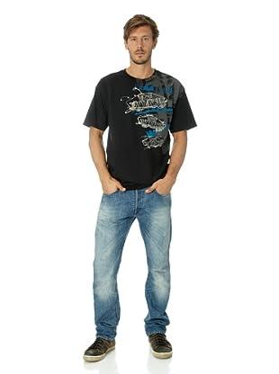 Vans Herren T-shirt Otw Spill (Black)