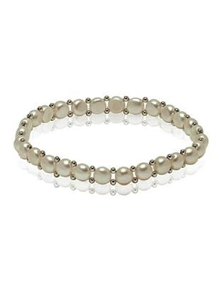 Valero Pearls 60201665 - Pulsera de mujer de plata de ley con perla de agua dulce, 19 cm