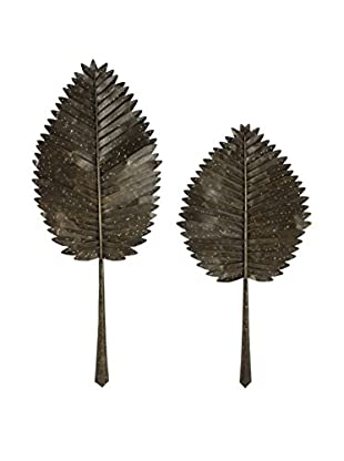 Set of 2 Cleopatra Leaves