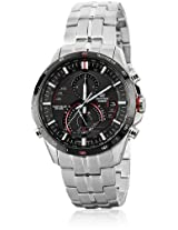 Edifice Eqs-A500Db-1Avdr-Ex088 Silver/Black Chronograph Watches