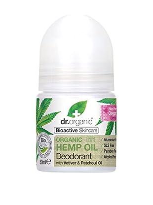 Dr Organic Deodorante Roll-On Olio Di Canapa 50 ml