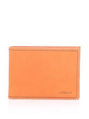 Hlaska Men's 7.1 Leather Wallet (Tangelo)