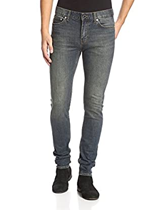 BLK DNM Men's Washed Skinny Straight Jean