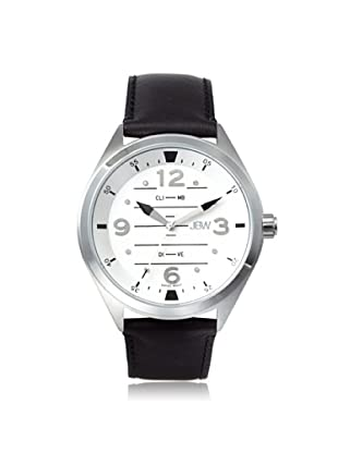 JBW Men's J6282E Black/Silver Stainless Steel Watch