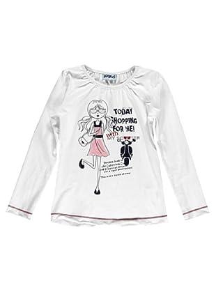 Camiseta Manga Larga (Blanco)