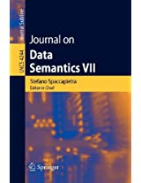 Journal on Data Semantics VII (Lecture Notes in Computer Science / Journal on Data Semantics (closed))