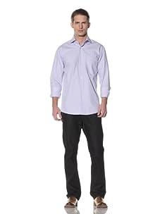 XMI Men's Dress Shirt (Blue)