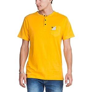 Zovi Men's Henley Cotton T-Shirt 103091024010S