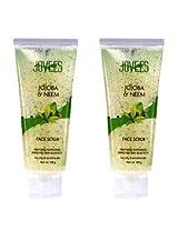 Jovees Jojoba & Neem Face Scrub (100 g Each) - Pack Of 2