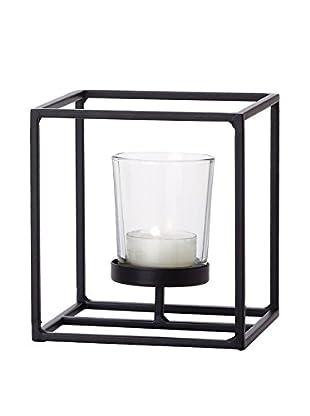Torre & Tagus Short Box Frame Candle Holder