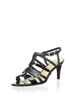 Rockport Women's Lendra Strappy Sandal (Black)