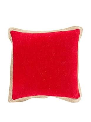 Surya Jute Flange Pillow