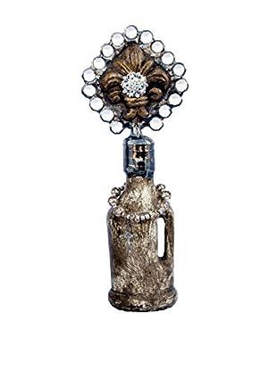 MAC Sculpture Palmette Mini Jug Bottle, Clear