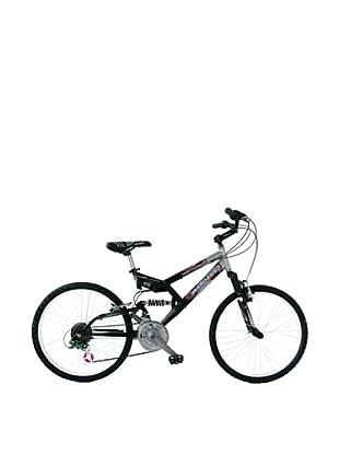 Girardengo Bicicleta Mtb Full Suspensión Acero Negro / Gris Única