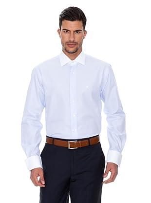 Caramelo Camisa Traje (Azul)