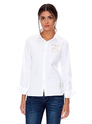 Valecuatro Camisa Logo (Blanco)