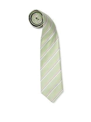 Olimpo Corbata Rayas (Verde)