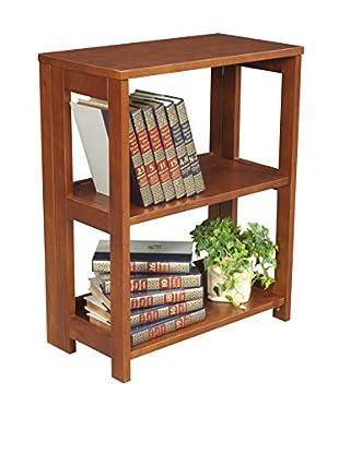Regency Deskside Folding Bookcase, Cherry