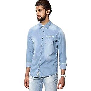 BEING HUMAN Faded Denim Shirt