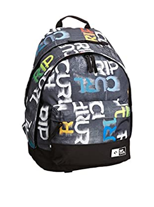 Rip Curl Mochila Curl Mens Double Dome Lettering Backpack (Multicolor)