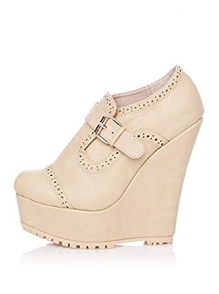 Furiezza Zapatos Abotinados Hebilla (Piedra)