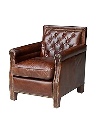 Mélange Home Waverly Chair, Vintage Cigar