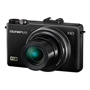 Olympus Creator XZ-1 10MP Point and Shoot Camera (Black) with 4x Optical Zoom